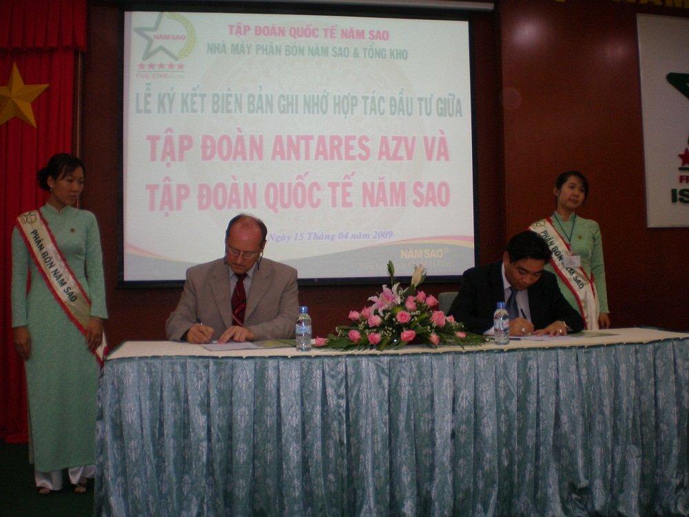 Signature the Memorandum production SA<br />